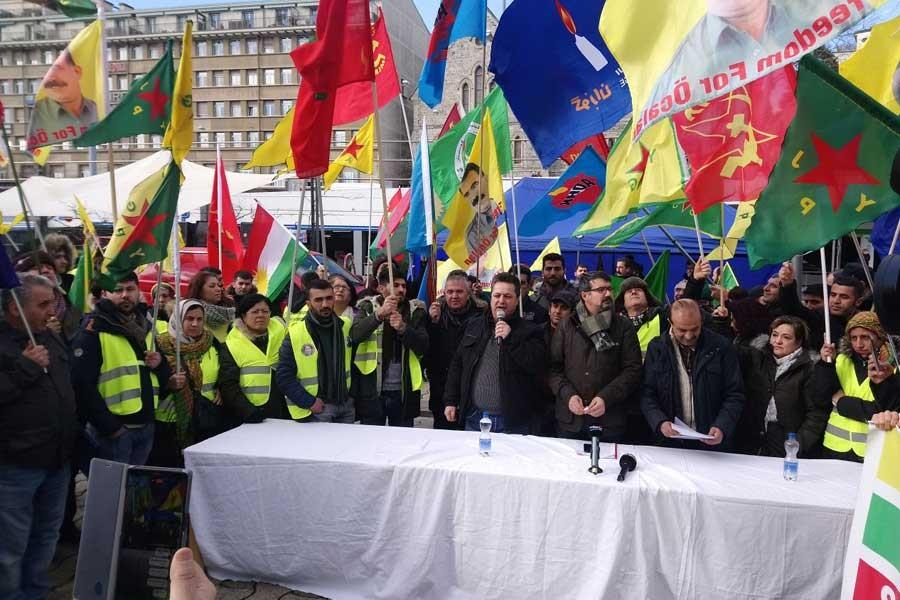 Lozan'dan Cenevre'ye 5 günlük Afrin yürüyüşü