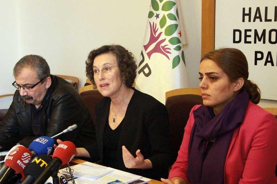 HDP'den gözaltılara tepki: Barışı savunmaya devam edeceğiz