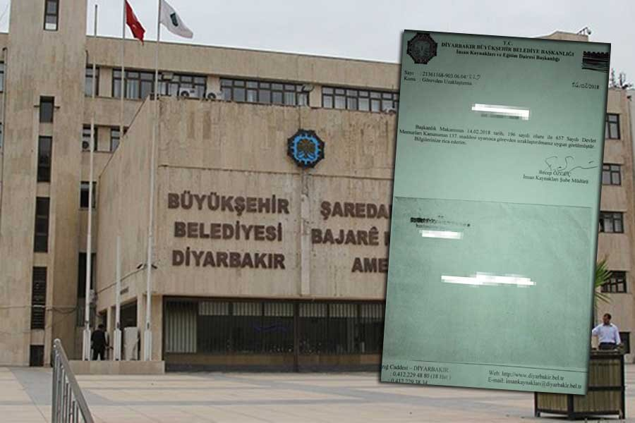 Diyarbakır Büyükşehir Belediyesinde 57 kişi işten çıkarıldı!