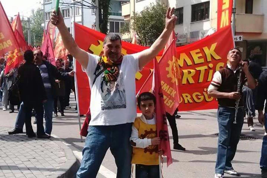 Bursa'da evi basılan EMEP üyesi, gözaltına alındı