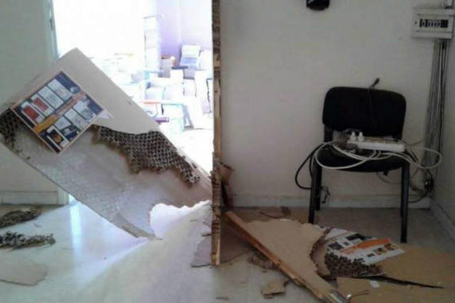 Aram Yayınevi'ne polis baskını