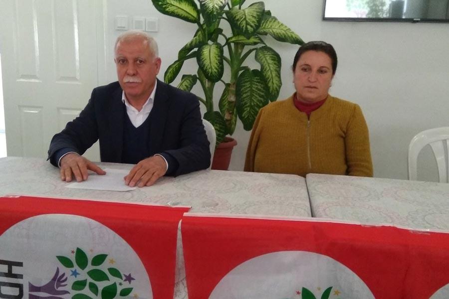 HDP Antep İl Örgütü: Siyaset yapma hakkı yok ediliyor