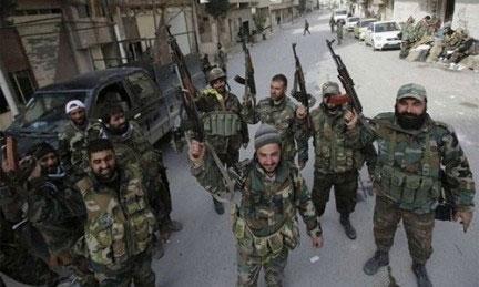 Suriye ordusu ve Hizbullah'tan güney cephesi operasyonu