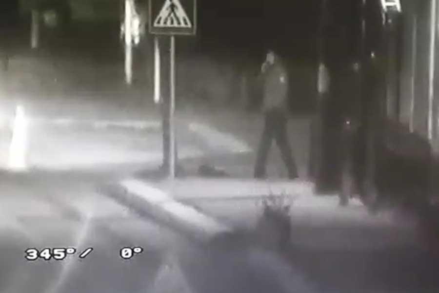 Polis gibi davranıp yol kapattılar, uygulama yaptılar