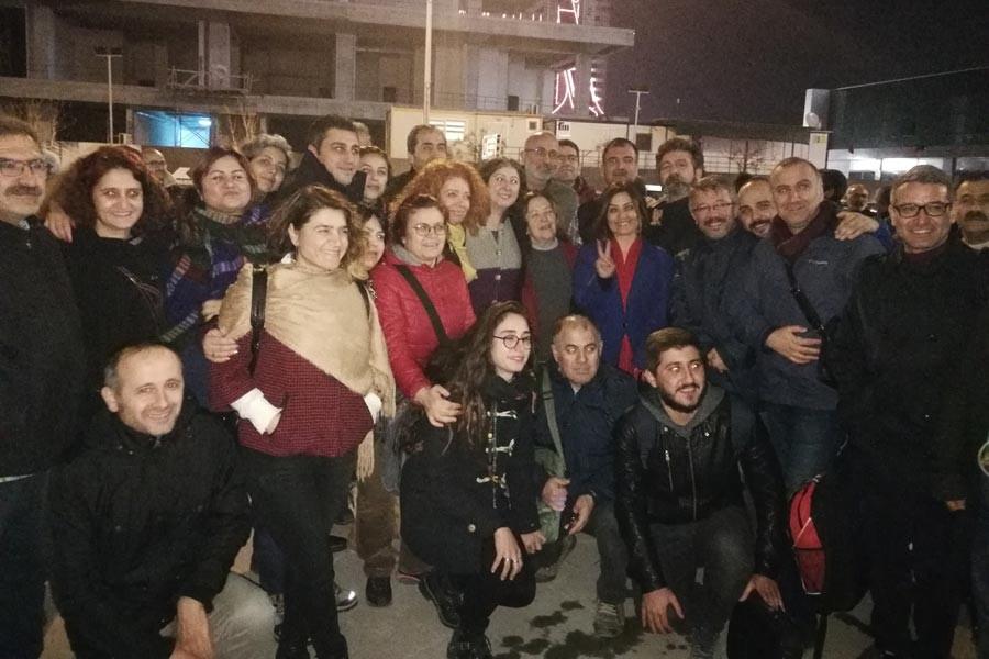 ELİF ÇUHADAR VE 24 KİŞİ SERBEST, 8 TUTUKLU