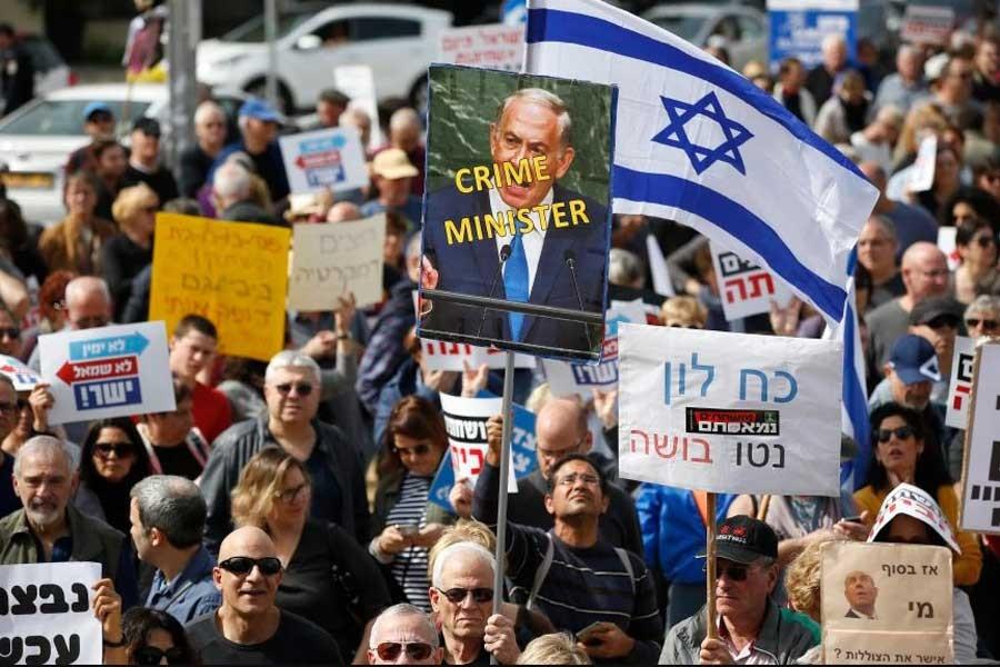 Netanyahu'ya yakın iki isim gözaltına alındı