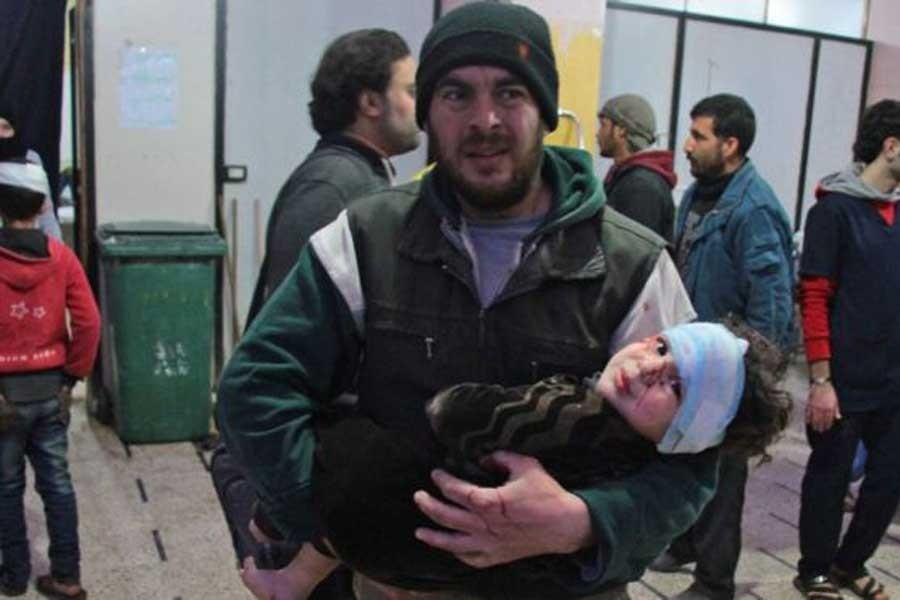 Doğu Guta'da  iki günde  250 ölüm
