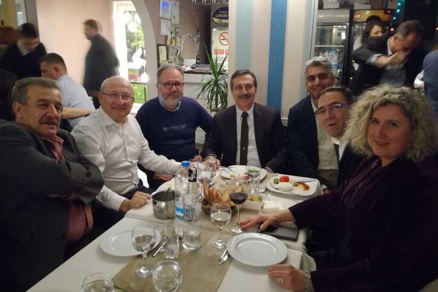 Eskişehir'de Evrensel ile dayanışma yemeği yapıldı