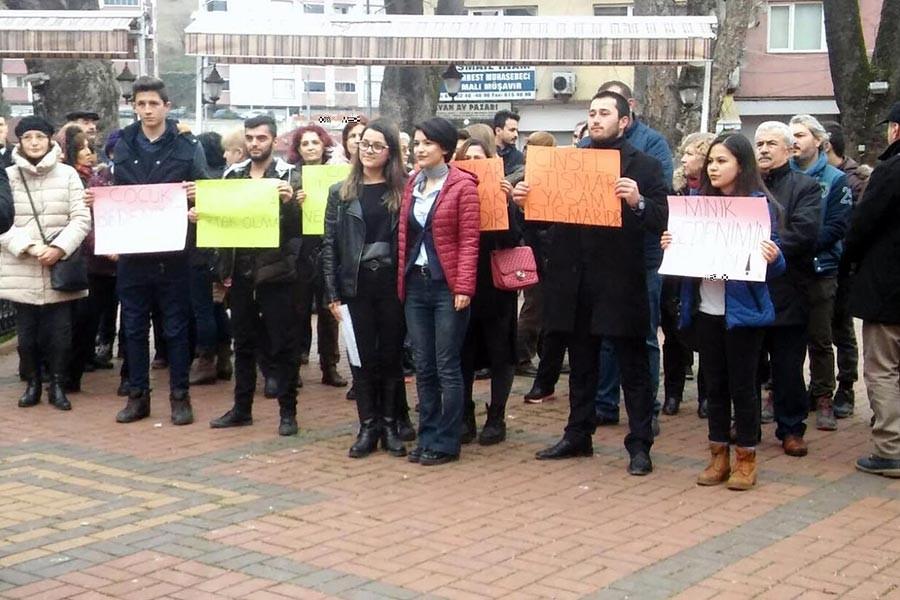 Çaycuma'da istismar, taciz ve tecavüzlere karşı açıklama