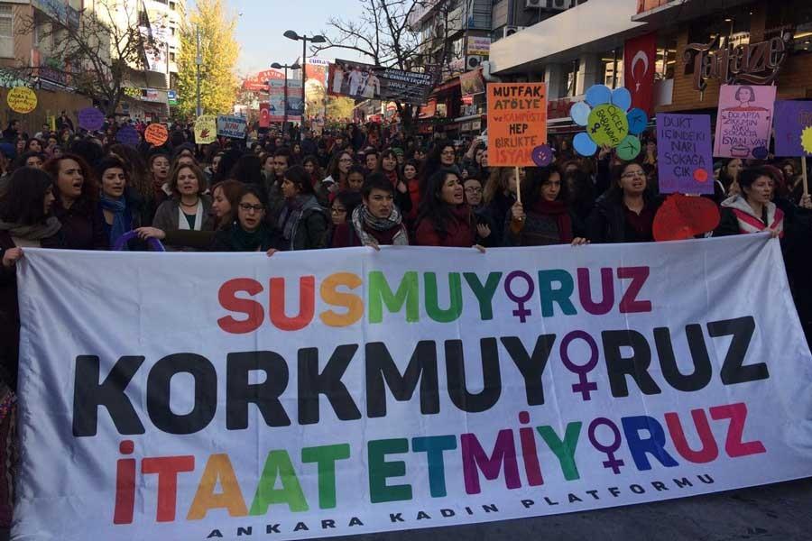 Elazığ'da 8 Mart açıklamasına 'uygun bulunmamıştır' yanıtı
