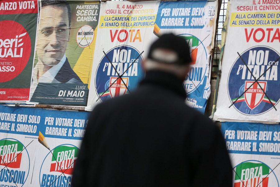 İtalya'da sandıktan hükümet çıkmayabilir