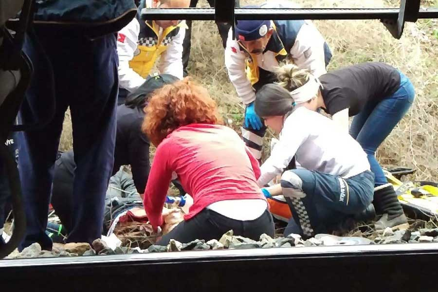 Doğu Ekspresi'nin çarptığı üniversite öğrencisi öldü