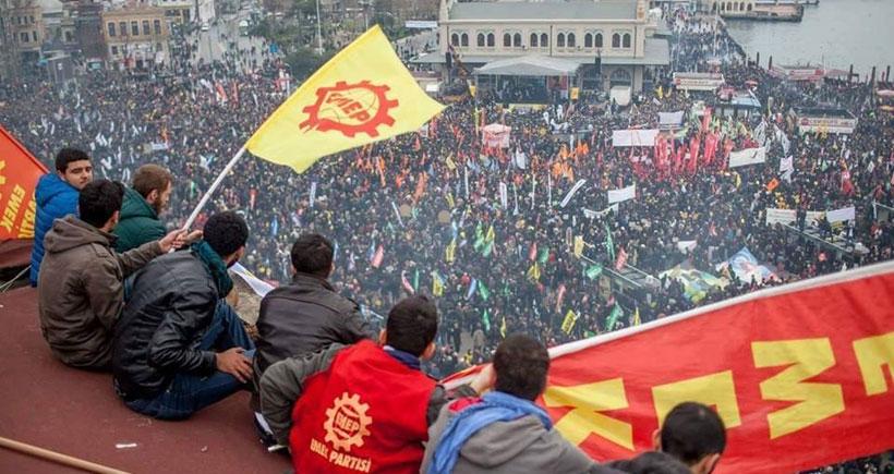 EMEP'ten 13 Şubat boykot ve grevine destek