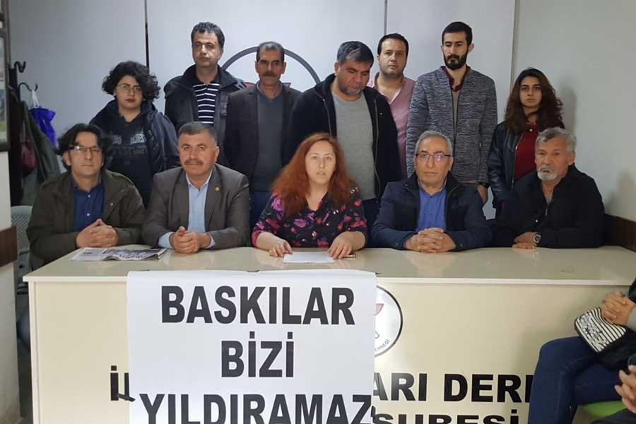EMEP üyelerini tehdit eden polisler hakkında suç duyurusu
