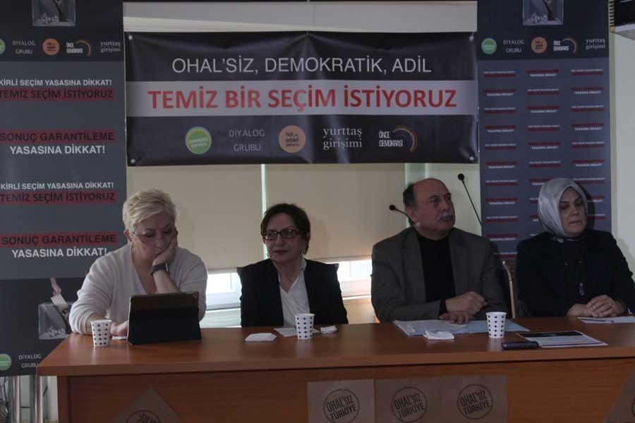 Kitle örgütlerinden çağrı: Demokrasi için güç birliği