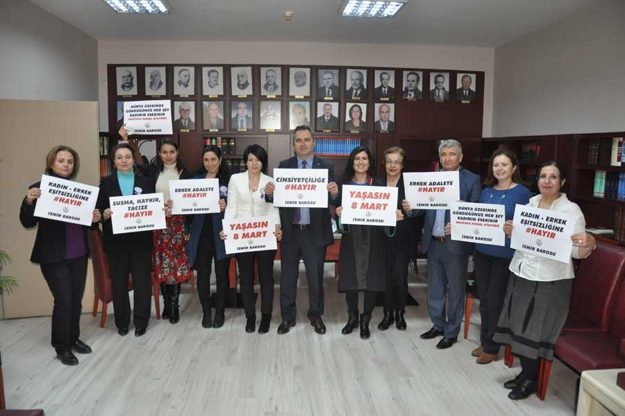 8 Mart İzmir Barosu