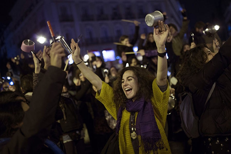 İspanya'da 8 Mart grevi!