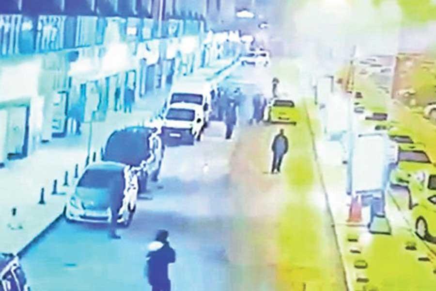 UBER şiddeti bitmiyor: Taksiciler sürücüyü çağırıp darbetti