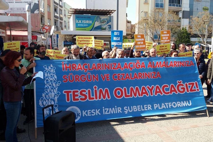 KESK İzmir: Adalet arayışından vazgeçmiyoruz