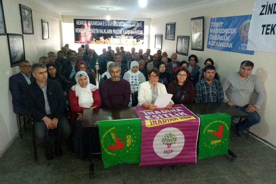 Adana Newroz'una çağrı yapıldı