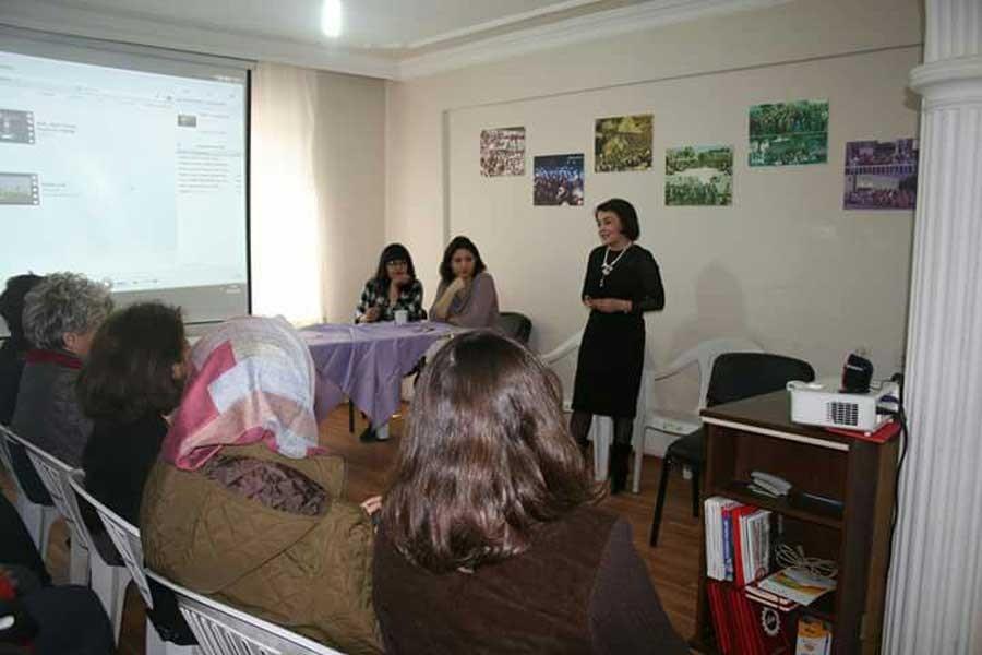 Bilecik ve Çiğli'de 8 Mart etkinliği