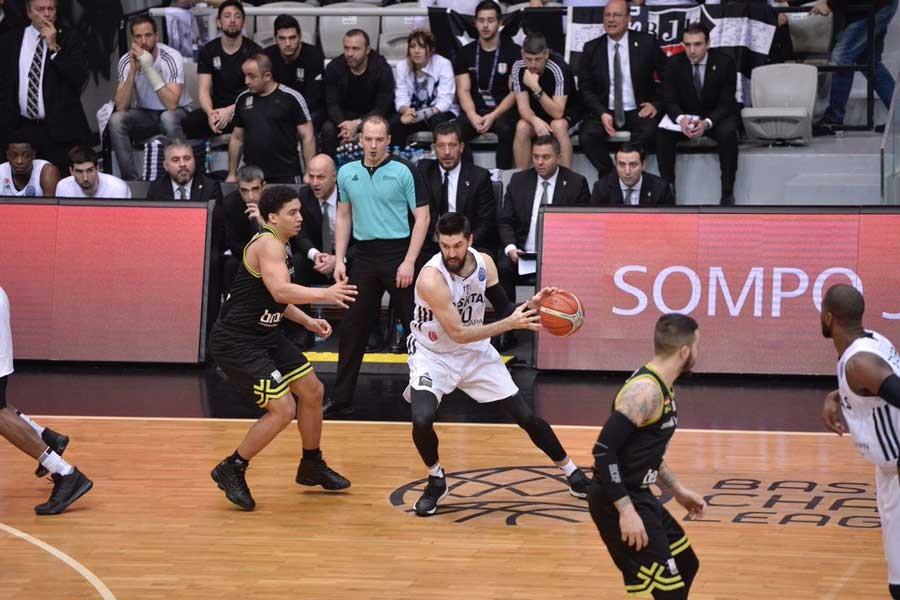 Beşiktaş Sompo Japan, FIBA Şampiyonlar Ligi'ne veda etti
