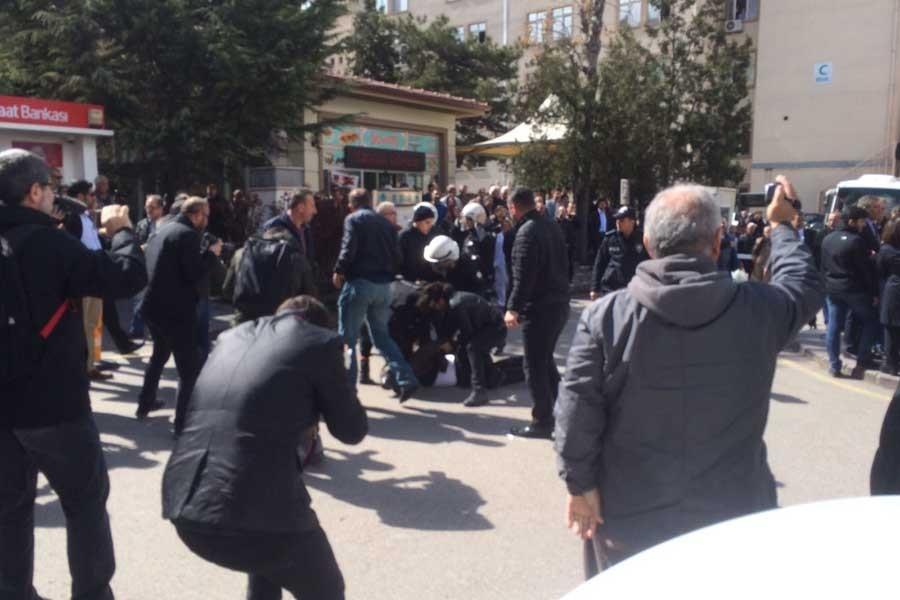 14 Mart Tıp Bayramı'nda sağlıkçılara gözaltı