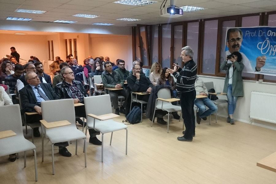 KODA seminerinde Onur Hamzaoğlu'ya özgürlük çağrısı