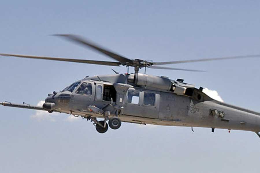 ABD'ye ait askeri helikopter Irak'ta düştü