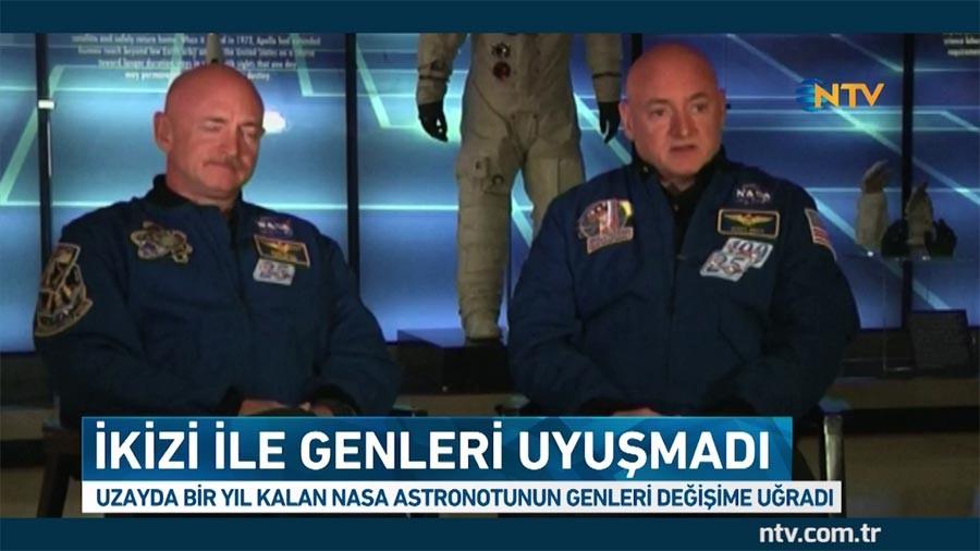 'Uzayda bir yıl kalan astronotun genleri değişti' haberi doğru değil