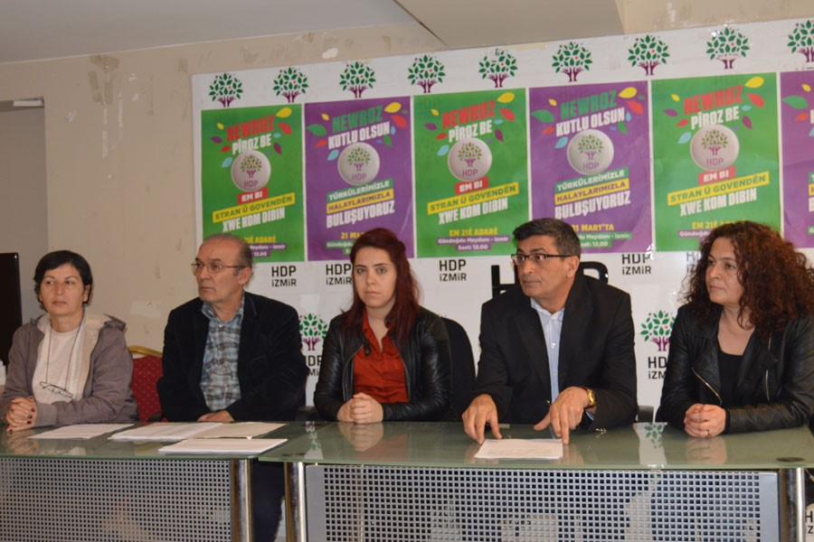 İzmirlilere Newroz çağrısı