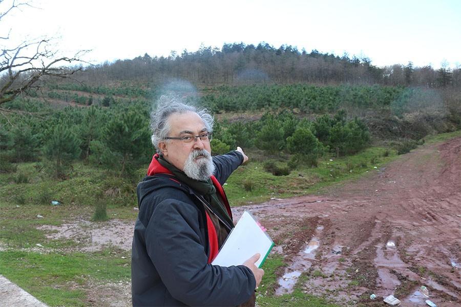 Ormanlık alana yapılacak atık yakma tesisine tepki