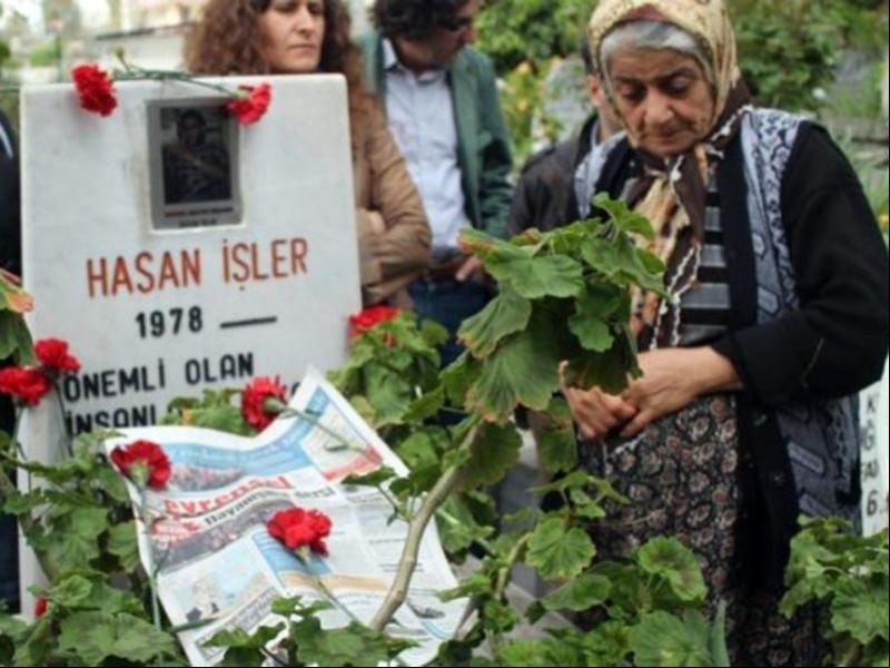 Hasan İşler'in mezarı