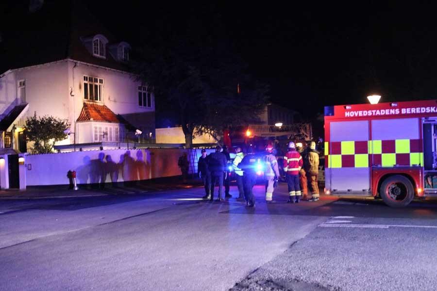 Türkiye'nin Danimarka Büyükelçiliği'ne saldırı
