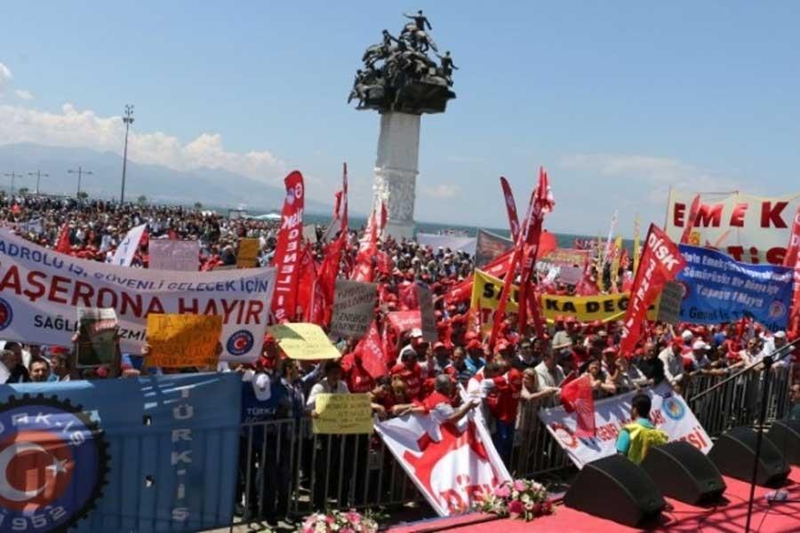 İzmir 1 Mayıs'ı için Gündoğdu'ya başvuru yapıldı