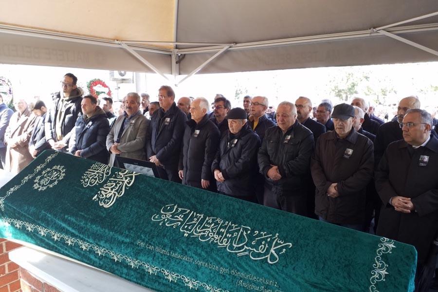 EMO eski yöneticisi Mustafa Bulut son yolculuğuna uğurlandı