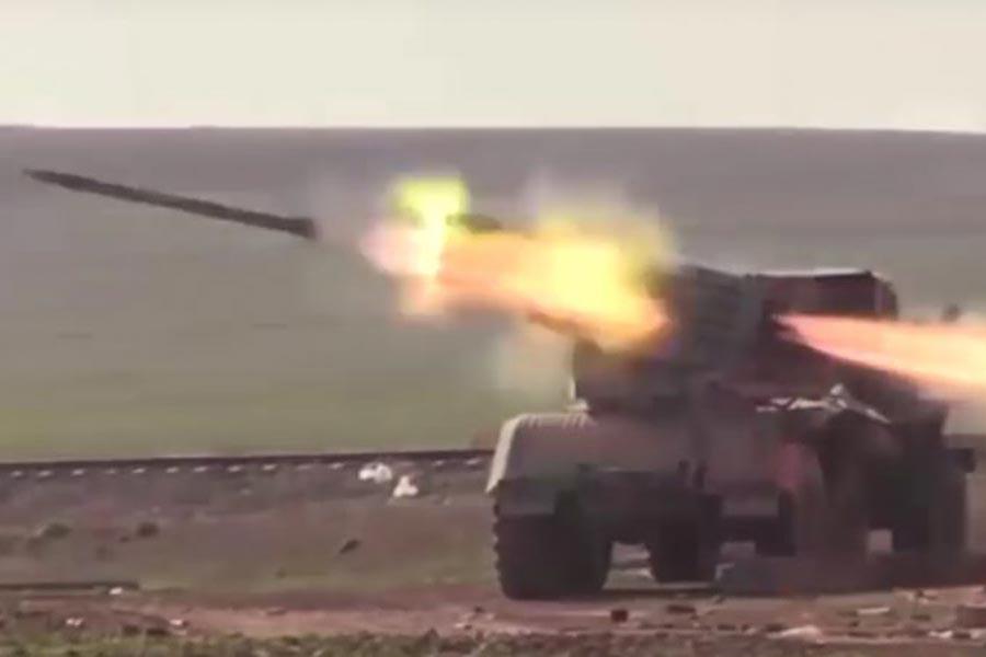 'Halep'in batısında TSK mevzileri bombalandı' iddiası