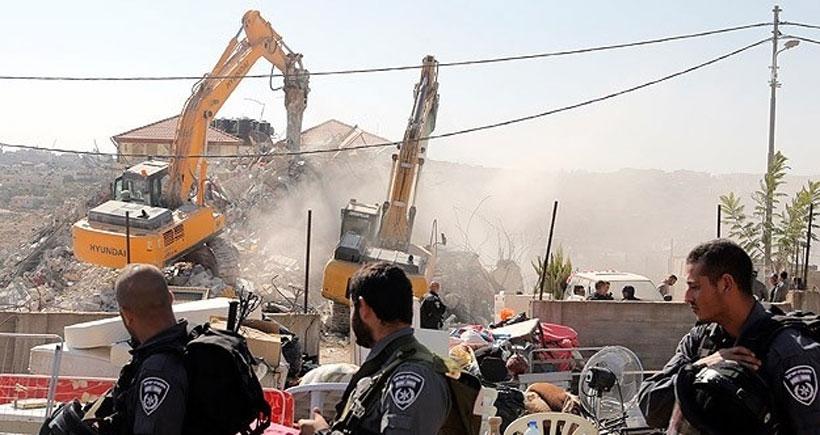 'İsrail, Kudüs'te 20 bin evi yıkmaya hazırlanıyor'
