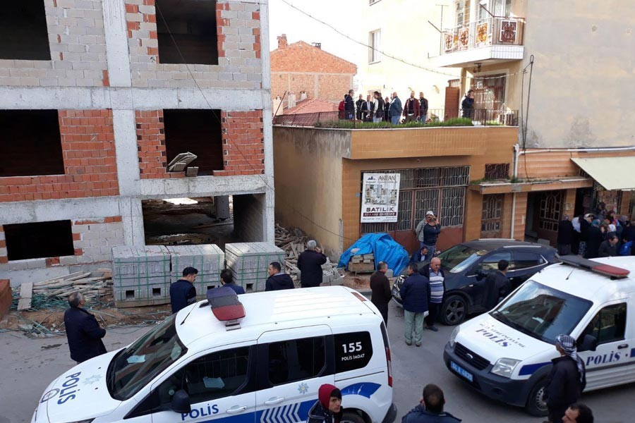 Uşak'ta iş cinayeti: 1 inşaat işçisi yaşamını yitirdi