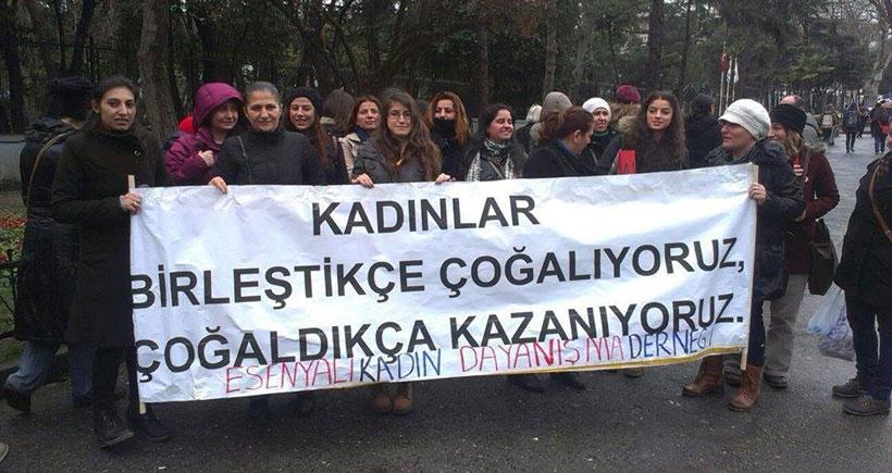 Esenyalı'dan 8 Mart  şölenine çağrı
