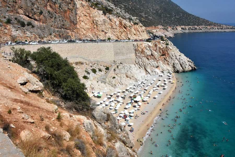 Kaputaş Plajı'na otoyol projesine yargı freni
