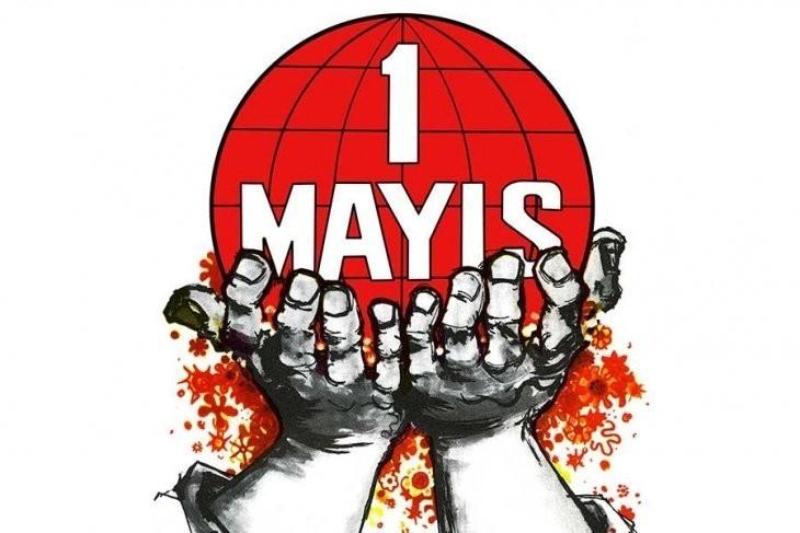 Tuzla'da farklı iş kollarından işçiler 1 Mayıs hazırlıklarına başladı