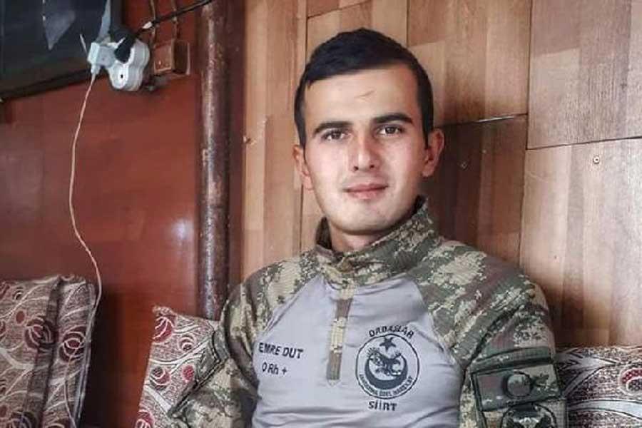 Siirt'te yaşamını yitiren asker Konya'da uğurlandı