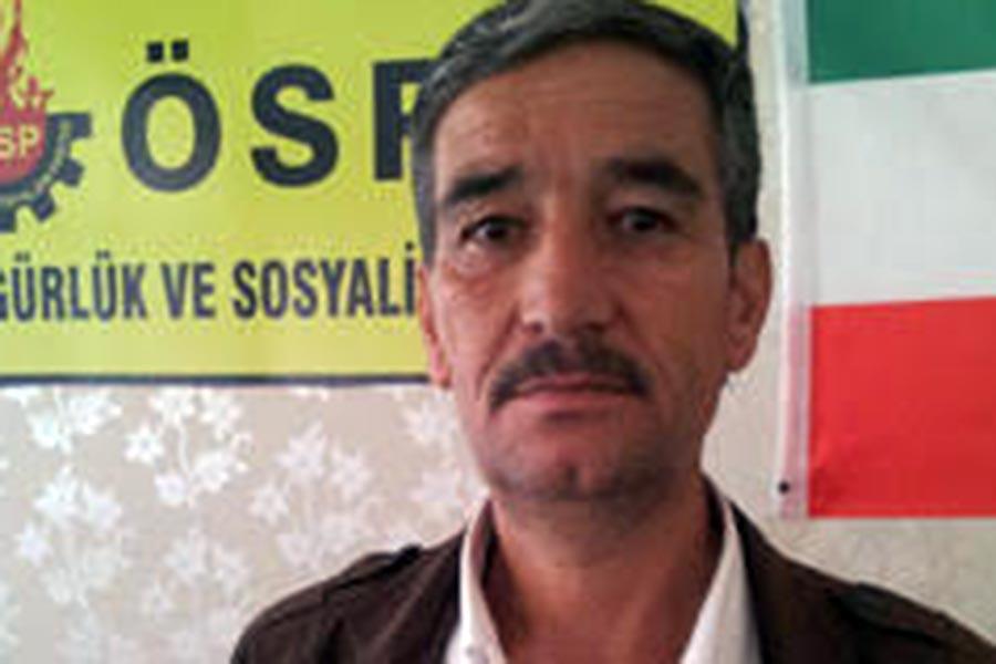 Özgürlük ve Sosyalizm Partisi (ÖSP) Genel Başkan Yardımcısı Nusrettin Maçin