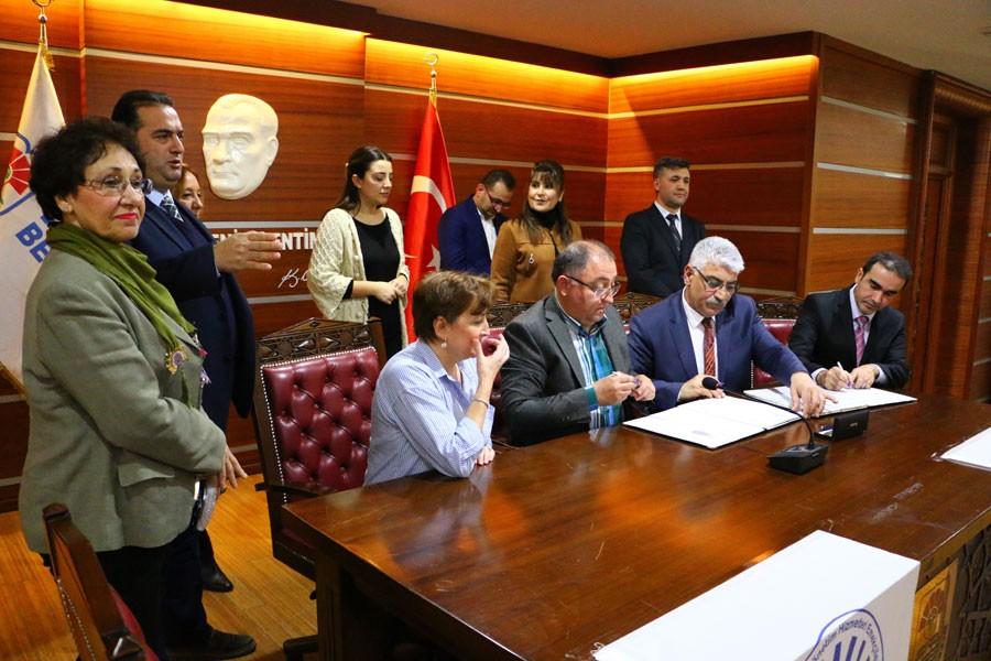 Yalova Belediyesinde 2018-2019 yılı toplu iş sözleşmesi imzalandı