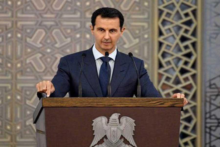 Esad: Türkiye'ye Suriye'nin her yerinde karşılık vereceğiz