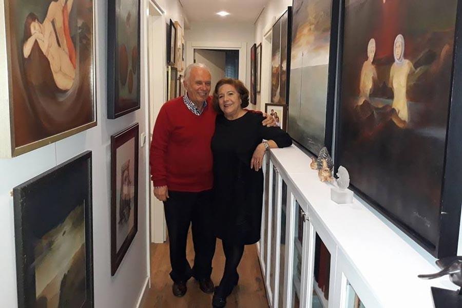Gülseren ve Teoman Südor resimleri Eskişehir'de sergileniyor