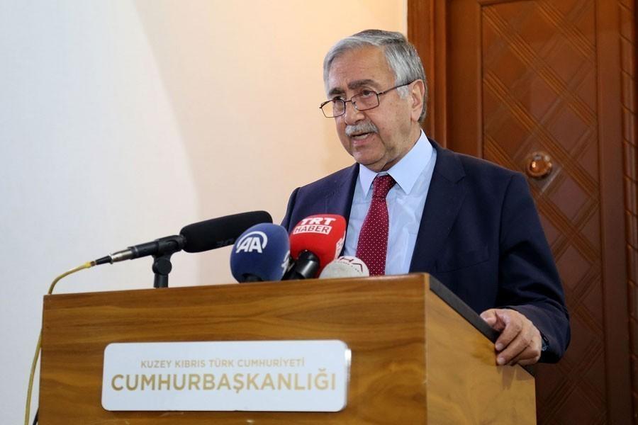 KKTC Cumhurbaşkanı Akıncı: 'Şimdi Barış Pınarı desek de akan su değil kandır''