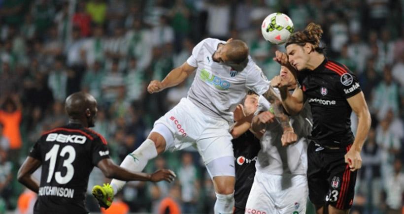 Futbol bayramı: Beşiktaş-Bursaspor
