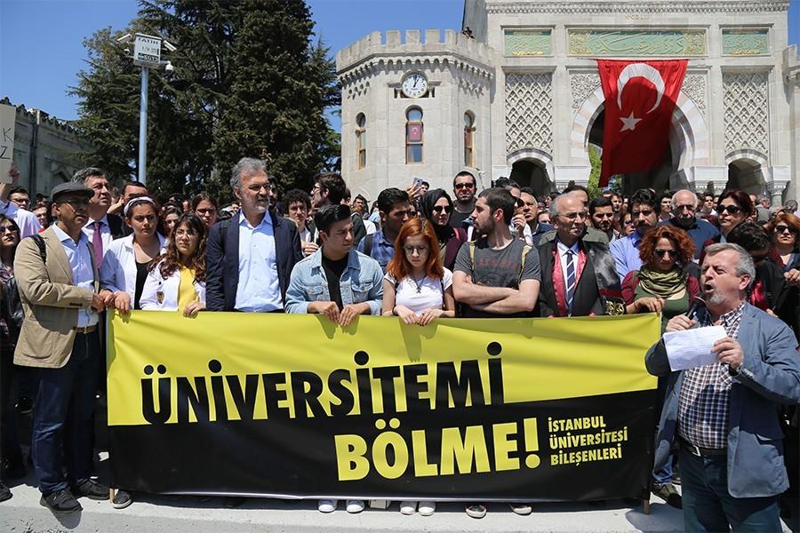 'ÜNİVERSİTEME DOKUNMA'